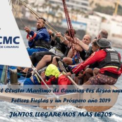 Christmas greetings 2018 from the Maritime Cluster of the Canary Islands