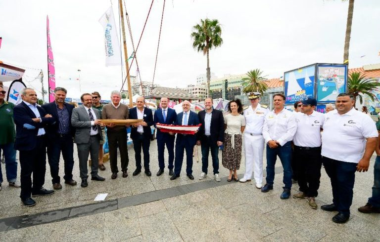 Inauguration of the International Sea Fair FIMAR 2019 and presentation of the new Port Centre