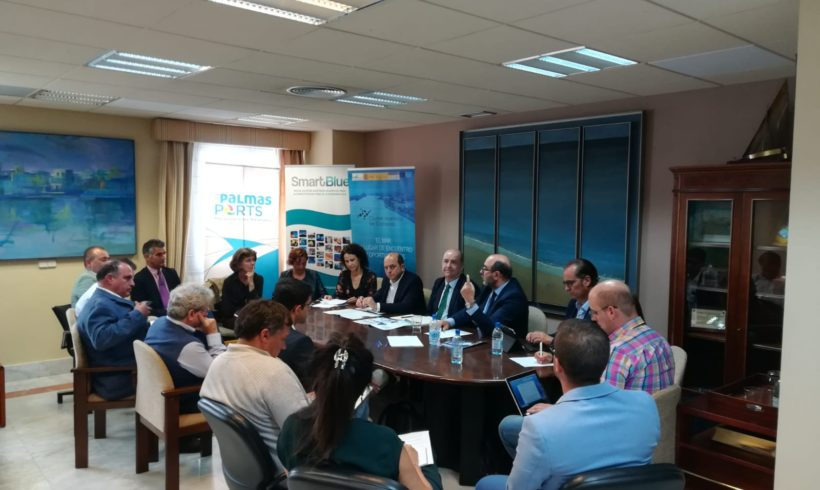 Meeting of the Technical Committee Economía Azul with the Government of the Canary Islands