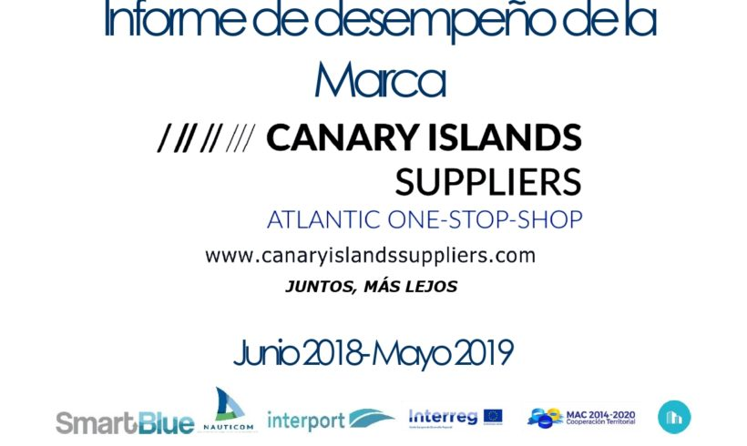 Publication of the Canary Islands Suppliers brand activity report
