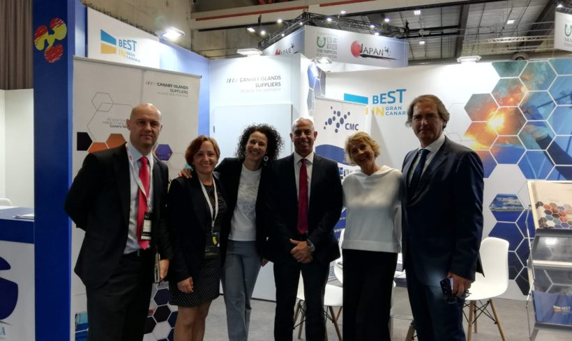Promotion of the Canary Islands Suppliers brand at Nor-Shipping 2019 (Norway)